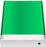 Green HD icon Free Vector Data