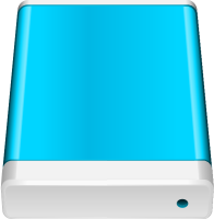 Light Blue HD icon Free Vector Data