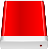 Red HD icon Free Vector Data