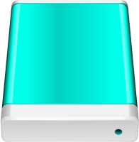Turquoise Blue HD icon Free Vector Data