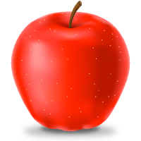 RED APPLE Icon(Fruits)