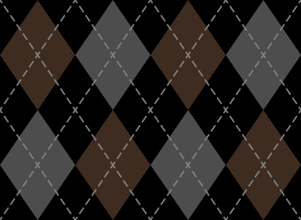 argyle_pattern_black_brown_gray