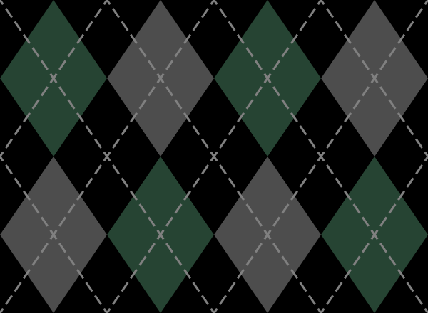 argyle_pattern_black_green_gray