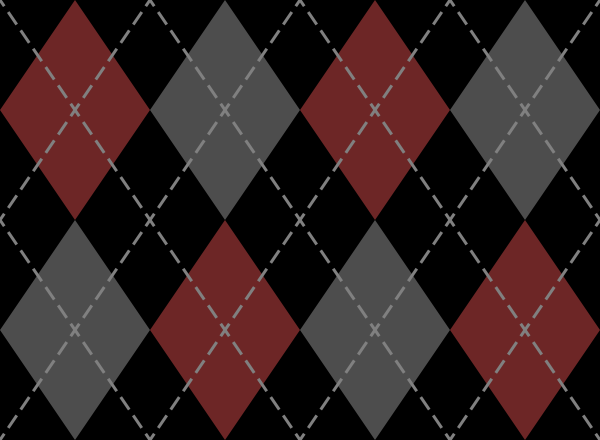 argyle_pattern_black_red_gray