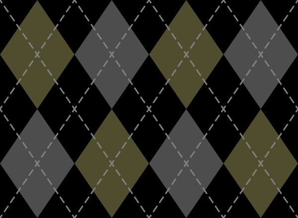 Black And Yellow And Gray Argyle Pattern Texture Pattern