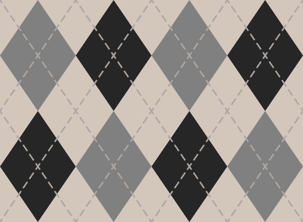 argyle_pattern_white_gray_black