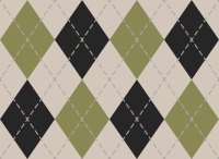 White And Green2 And Black Argyle Pattern texture pattern vector data