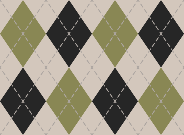 argyle_pattern_white_green2_black