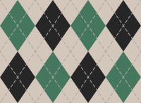 White And Green And Black Argyle Pattern texture pattern vector data