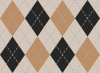 White And Orange And Black Argyle Pattern texture pattern vector data