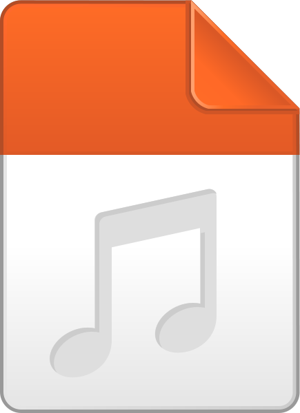 audio_file_icon_light_orange