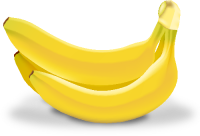 BANANA Icon(Fruits)