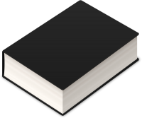 BOOK2 ICON BLACK VECTOR DATA
