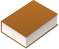 BOOK2 ICON BROWN VECTOR DATA