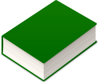 BOOK2 ICON DARK GREEN VECTOR DATA