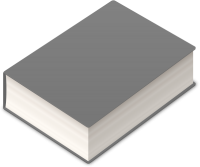BOOK2 ICON LIGHT GRAY VECTOR DATA