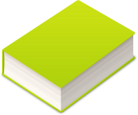 BOOK2 ICON LIGHT GREEN VECTOR DATA