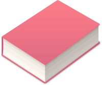 BOOK2 ICON PINK VECTOR DATA