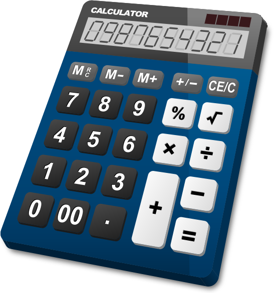 calculator_navy_blue