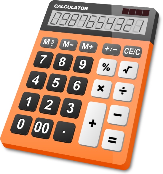 calculator_orange