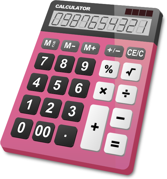 calculator_pink