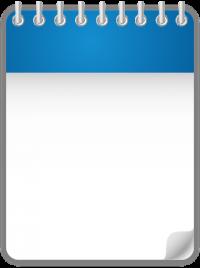 Calendar Date Icon BLUE