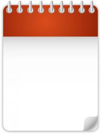 Calendar Date Icon ORANGE