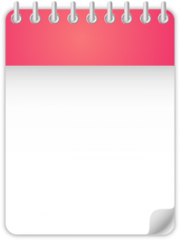 Calendar Date Icon PINK
