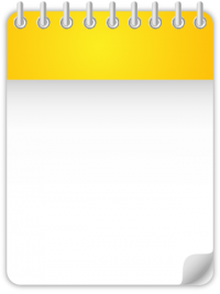 Calendar Date Icon YELLOW