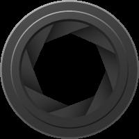 Camera Diaphragm vector data.