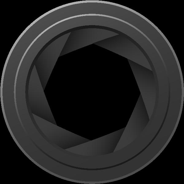 camera diaphragm vector data svgvectorpublic domain