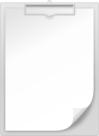 GRAY CLIPBOARD vector icon