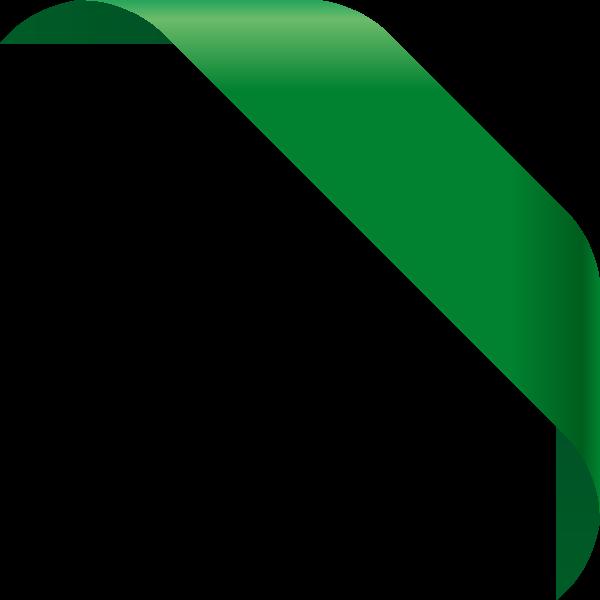 corner_ribbon01_dark_green