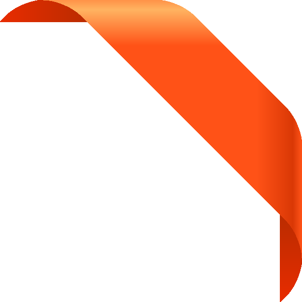 corner_ribbon01_orange
