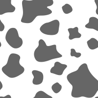 Seamless white and gray cow texture pattern