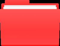 FOLDER ICON RED