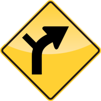 HORIZONTAL ALIGNMENT Sign