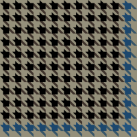 Black and bule Houndstooth check vector data