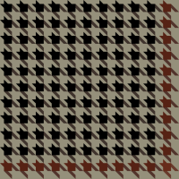 Black and brown Houndstooth check vector data.
