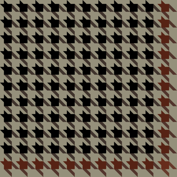 houndstooth_check_black_brown