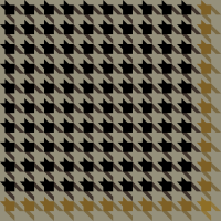 Black and yellow Houndstooth check pattern vector data.