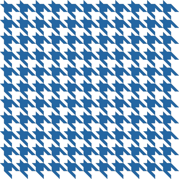 Blue1 Houndstooth check vector data