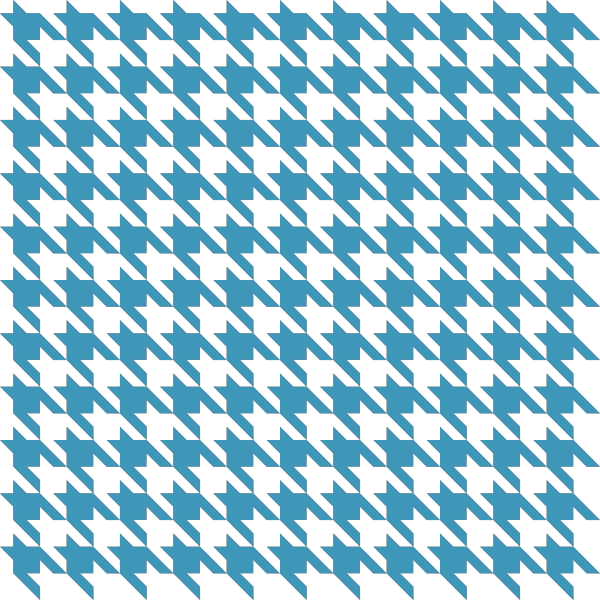 Blue2 Houndstooth check vector data