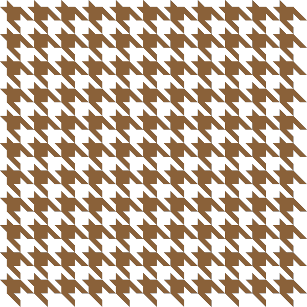 houndstooth_check_brown