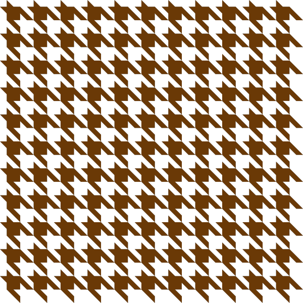 Brown2 Houndstooth check vector data