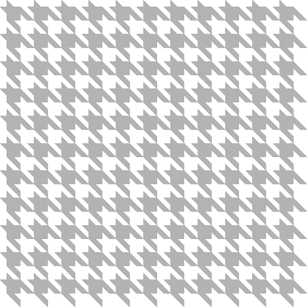 Gray Houndstooth check vector data
