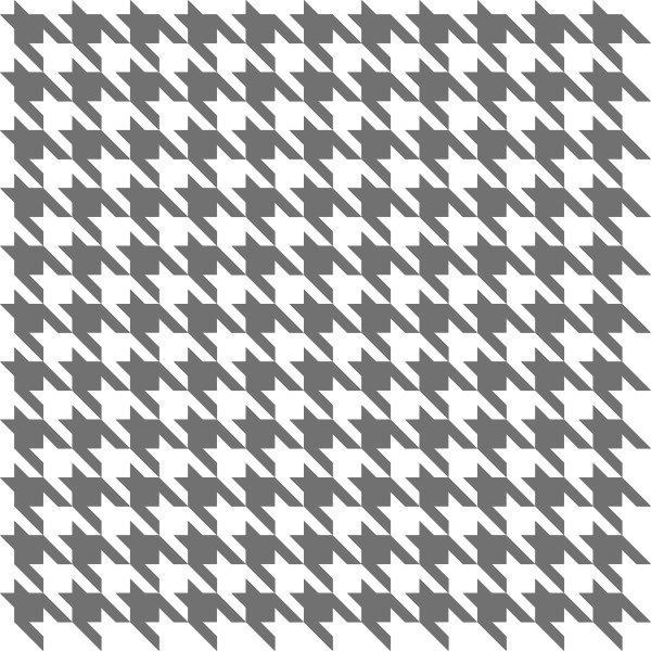 Gray2 Houndstooth check vector data
