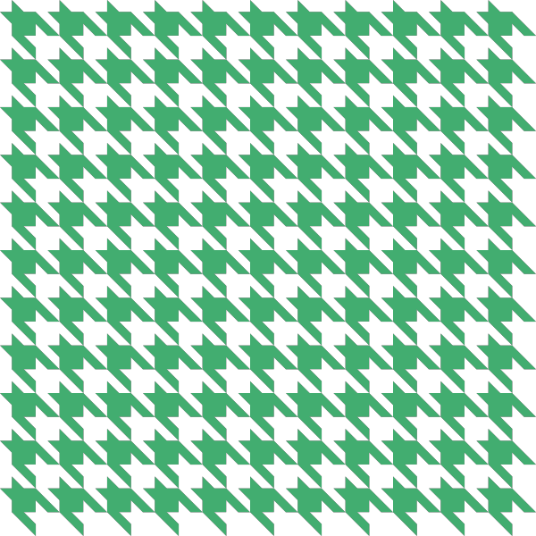 Green1 Houndstooth check vector data