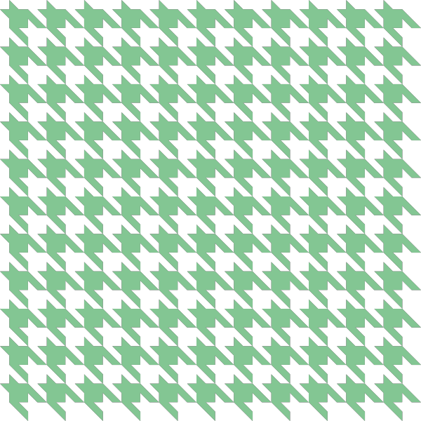 Green2 Houndstooth check vector data