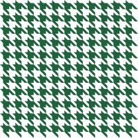 Green3 Houndstooth check vector data